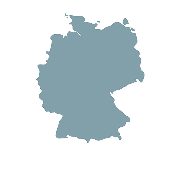 Länderumriss germany
