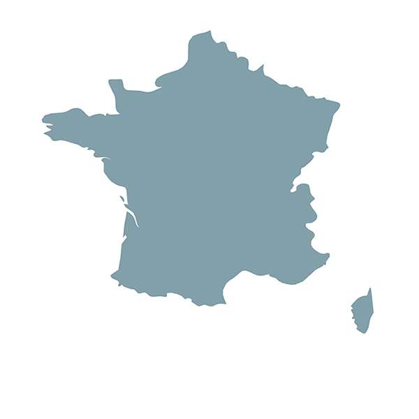 Länderumriss france