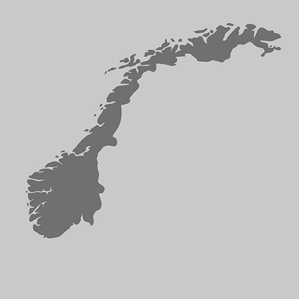 Länderumriss norway