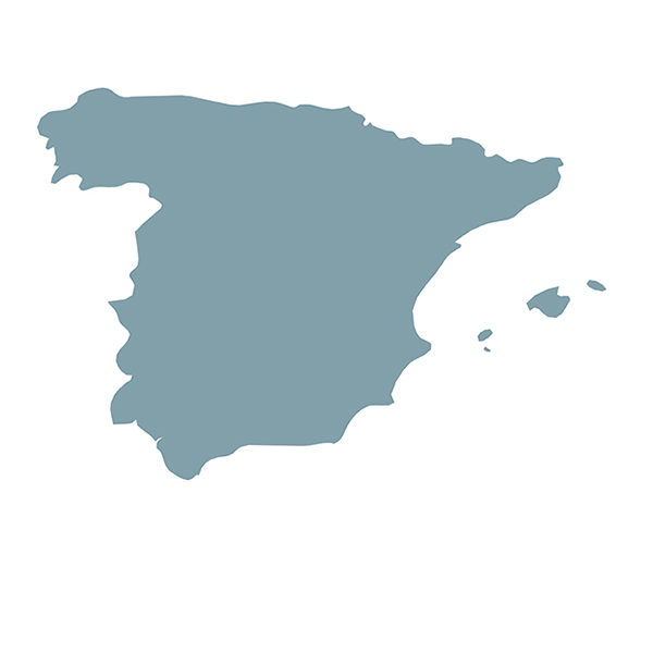 Länderumriss spain